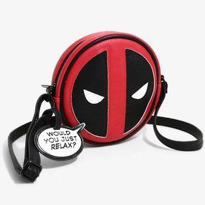 Loungefly x Marvel Deadpool Crossbody Bag